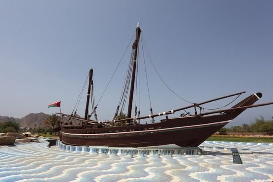 muscat sohar boat