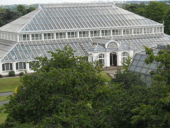 Photo Kew Gardens Temperate House Londra In London