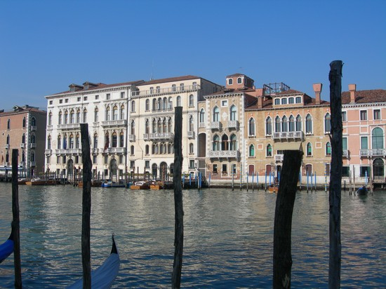 Photo canal grande venezia in Venice - Pictures and Images of Venice - 550x412  - Author: Rosangela, photo 9 of 782