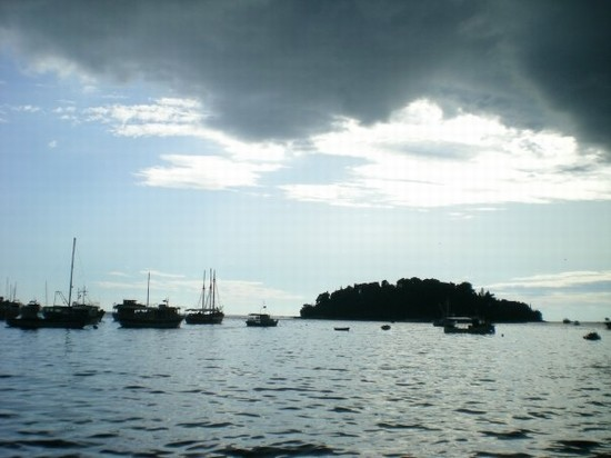 Photo temporale in arrivo in Rovinj - Pictures and Images of Rovinj