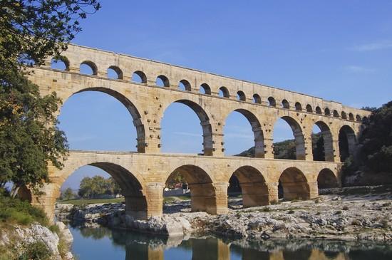 Photo avignon pont du gard roman in Avignon - Pictures and Images of Avignon
