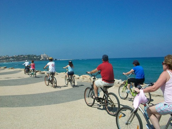Photo Bike Tour in Tel Aviv - Pictures and Images of Tel Aviv - 550x412  - Author: