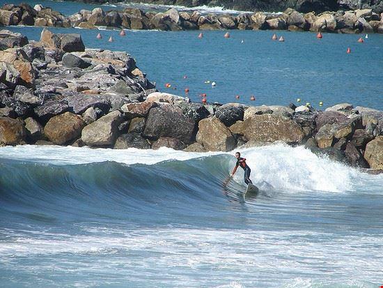 Surfer in Levanto