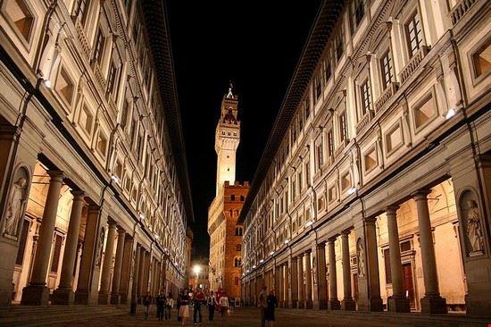 Galleria deglu uffizi à Florence