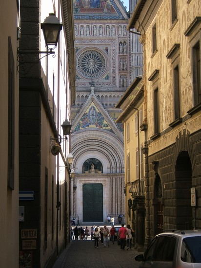 Photo prospettiva in Orvieto - Pictures and Images of Orvieto