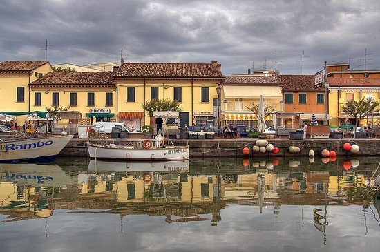 Photo cervia il canale in Cervia - Pictures and Images of Cervia