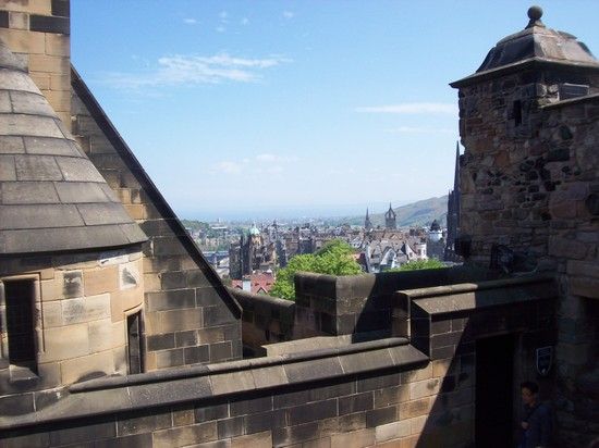 Photo Pandrama dal  castello in Edinburgh - Pictures and Images of Edinburgh