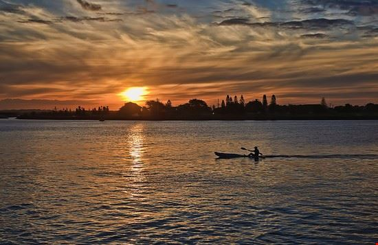Newcastle sunset