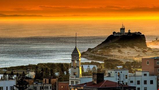 Sunset at Nobby's Lighthouse