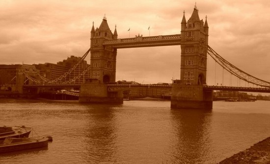 Photo tower bridge in London - Pictures and Images of London