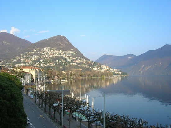 Photo lugano lago lugano in Lugano - Pictures and Images of Lugano - 550x412  - Author: Chiara, photo 4 of 71