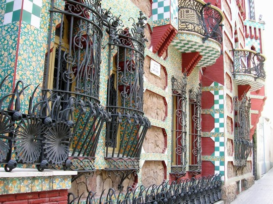 Photo barcellona casa vicens barcellona in Barcelona - Pictures and Images of Barcelona - 550x412  - Author: Chiara, photo 212 of 609