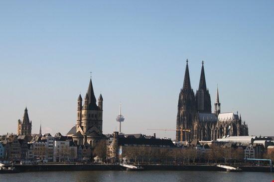 Veduta dell'Altstadt a Colonia