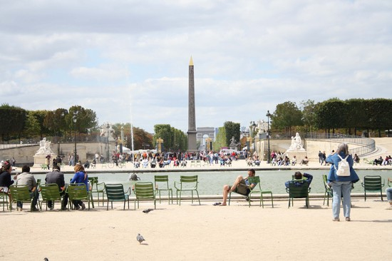 JARDIN TUILERIES a PARIS