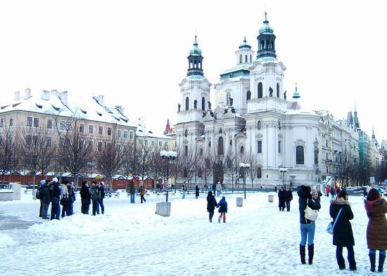 Foto inverno a praga praga cz - Imágenes y fotos de Praga - 550x393  - Autor: Vera Puoti, Foto 16 de 577