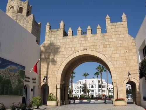 Port-el-Kantaoui en Tunisie
