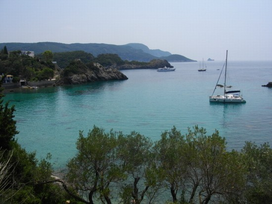 Photo baie nei pressi di paleokastritsa corfu in Corfu - Pictures and Images of Corfu