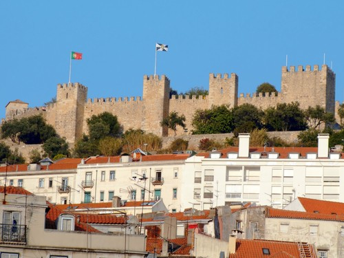Photo lisbonne chateau saint-georges castelo de sao jorge- a lisbonne in Lisbon - Pictures and Images of Lisbon