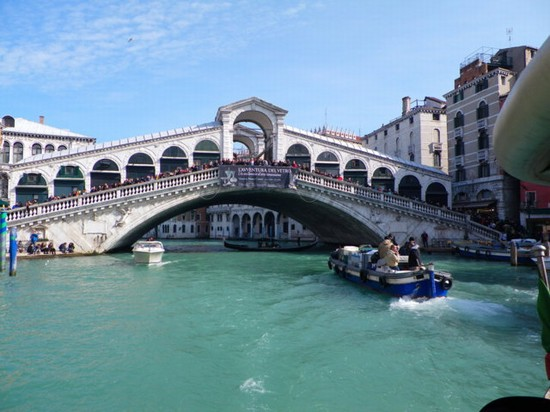 Photo ponte di Rialto in Venice - Pictures and Images of Venice