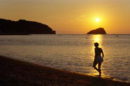 Foto La spiaggia al mattino a Spotorno - 425x282  - Autore: Redazione, foto 1 di 4