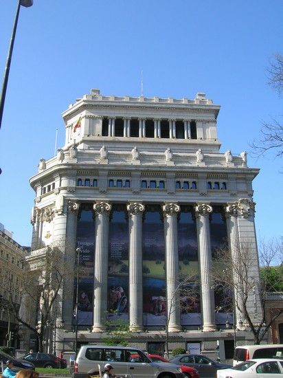 Photo madrid calle alcala madrid in Madrid - Pictures and Images of Madrid - 412x550  - Author: Chiara, photo 41 of 349