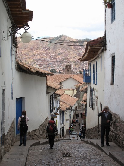 Photo cuesta san blas in Cuzco - Pictures and Images of Cuzco - 412x550  - Author: Leighton, photo 1 of 39