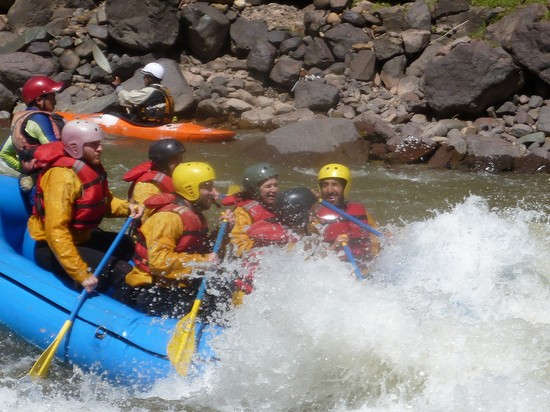 Photo cuzco rafting the urubamba river in Cuzco - Pictures and Images of Cuzco