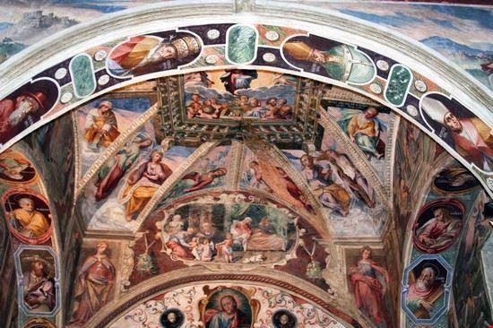 Chiesa del Carmine - affreschi seicenteschi