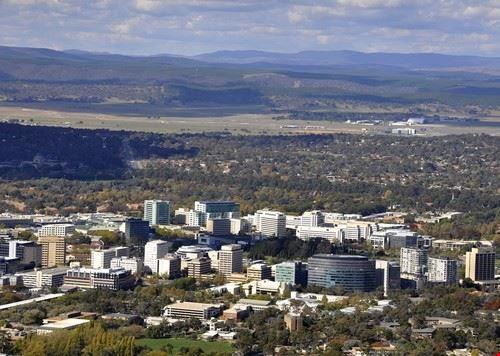 Canberra en Australie
