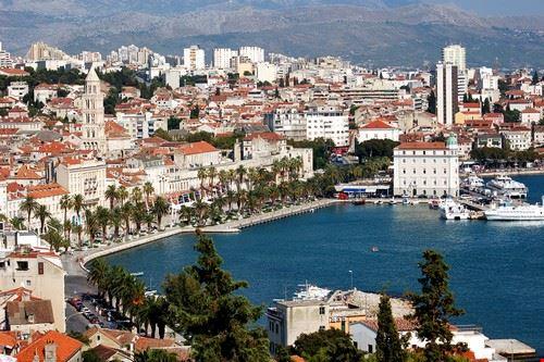 Split en Croatie