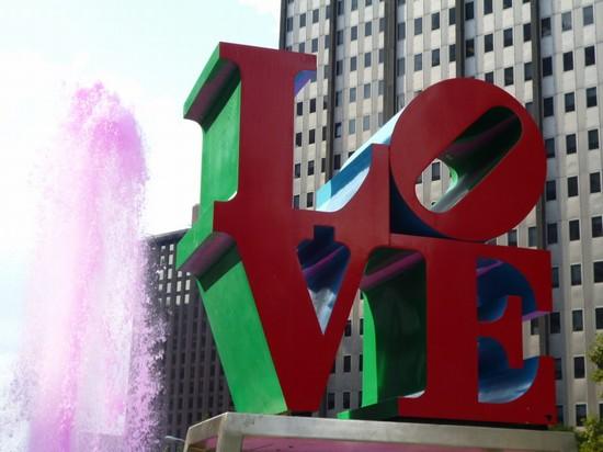 Foto La fontana dellamore a Philadelphia - 550x412 ...