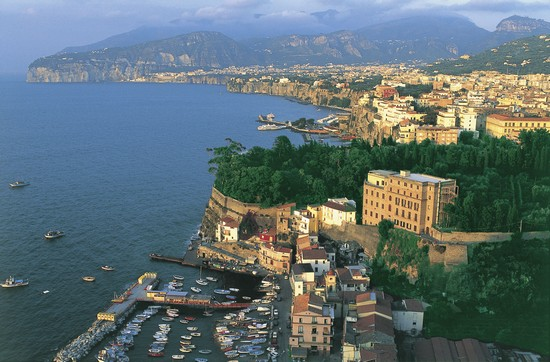 Photo Marina grande e Marina Piccola in Sorrento - Pictures and Images of Sorrento