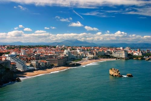 Biarritz dans le sud ouest