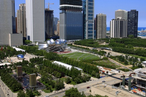 Photo chicago millenium park a chicago in Chicago - Pictures and Images of Chicago - 500x334  - Author: Editorial Staff, photo 5 of 229