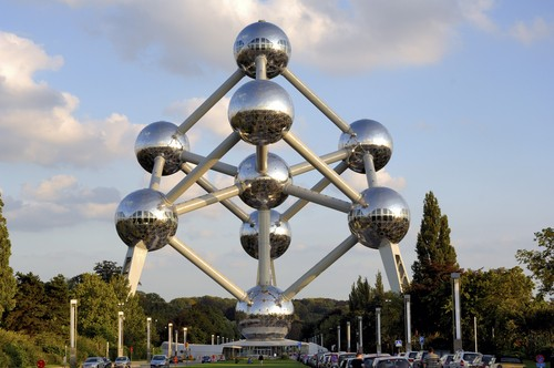 ATOMIUM  a BRUSSELS