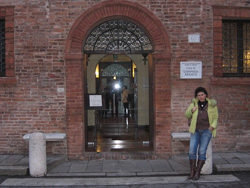Photo ferrara casa di ludovico ariosto in Ferrara - Pictures and Images of Ferrara - 500x375  - Author: Editorial Staff, photo 1 of 212