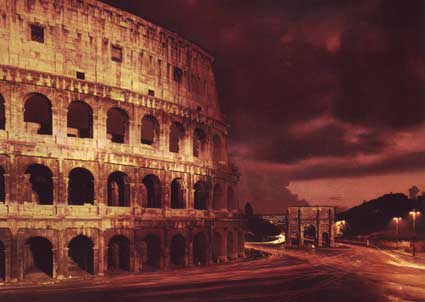 Photo roma colosseo e arco di costantino in Rome - Pictures and Images of Rome