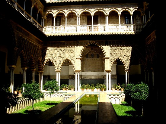 Photo real alcazares siviglia in Seville - Pictures and Images of Seville - 550x412  - Author: Rossella, photo 32 of 242