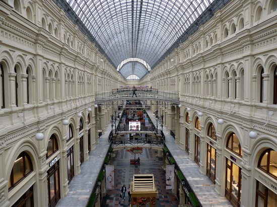 Photo magazzini GUM in Moscow - Pictures and Images of Moscow