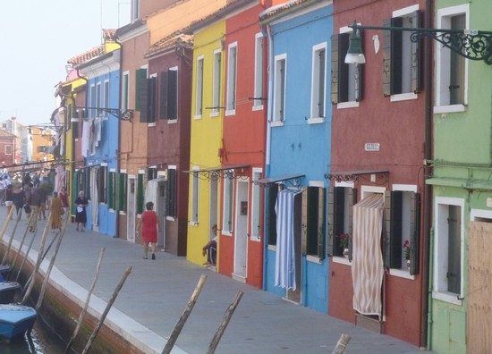 Photo Casette colorate a Burano in Venice - Pictures and Images of Venice