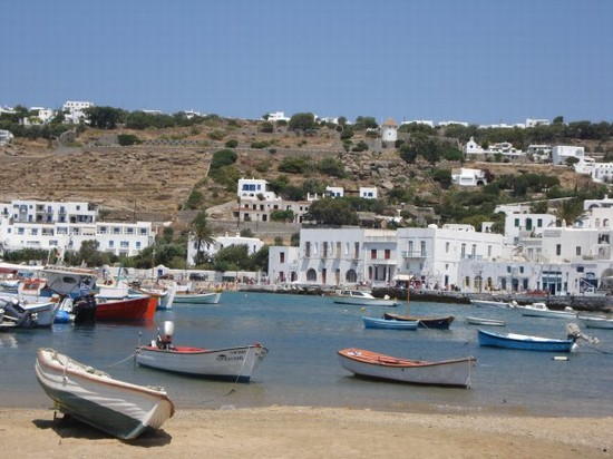 Photo Un caratteristico porticciolo in Mykonos - Pictures and Images of Mykonos