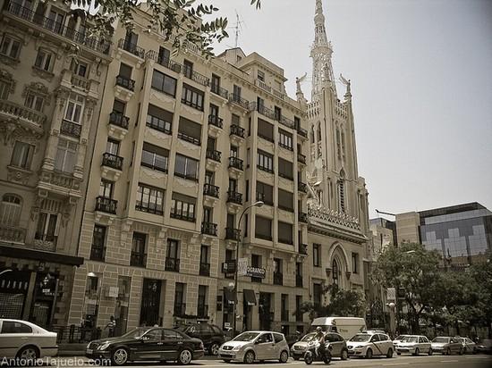 Barrio De Salamanca Madrid Streets Squares And