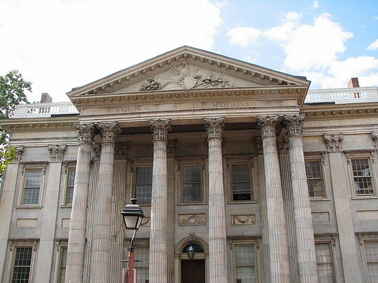 Photo First Bank of the United States in Philadelphia - Pictures and Images of Philadelphia - 550x412  - Author: LisaCapozzi, photo 1 of 62