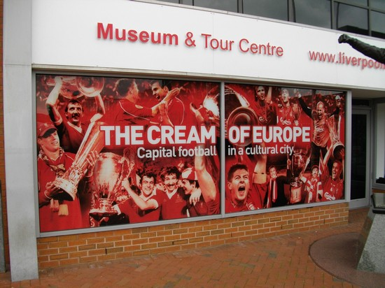 Photo museum liverpool fc liverpool in Liverpool - Pictures and Images of Liverpool - 550x412  - Author: Ludovico, photo 18 of 24
