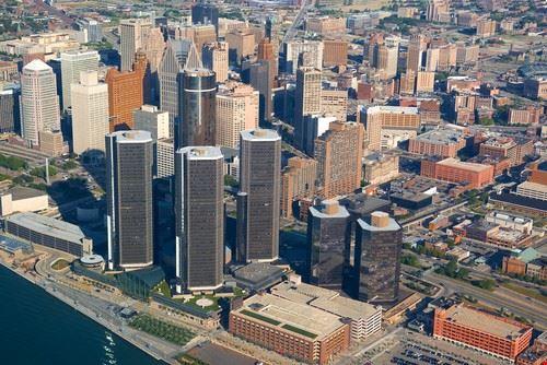 Detroit aux Etats-Unis