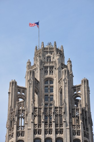 Photo chicago details tribune tower a chicago in Chicago - Pictures and Images of Chicago
