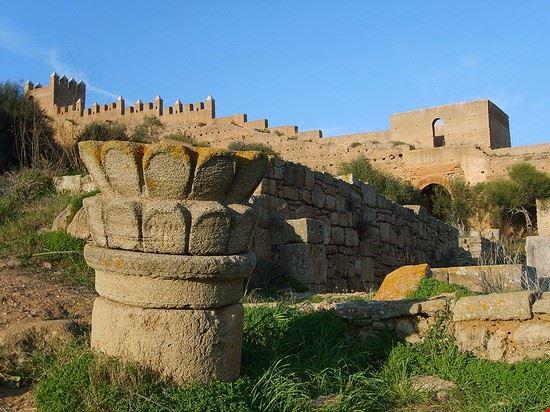 Nécropole de Chellah à Rabat