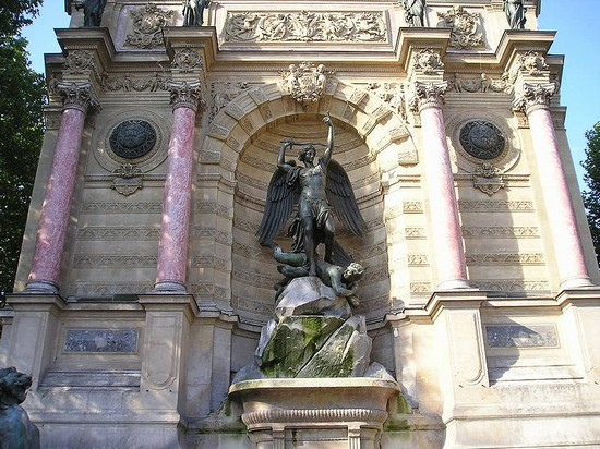 Place saint michel paris rues places et quartiers - Marche saint michel paris ...