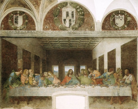 Foto milano ultima cena di leonardo da vinci al museo del cenacolo vinciano milano - Imágenes y fotos de Milán - 550x433  - Autor: Redacción, Foto 2 de 336