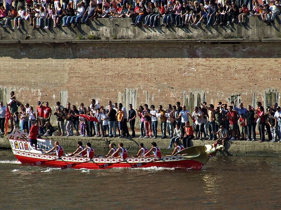 Photo pisa regata delle repubbliche marinare in Pisa - Pictures and Images of Pisa